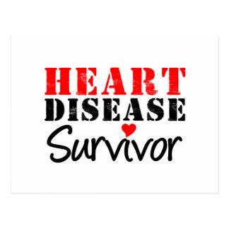 Superviviente de la enfermedad cardíaca postales