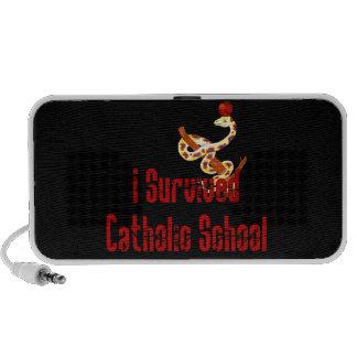 Superviviente de la escuela católica iPhone altavoces
