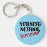 Superviviente de la escuela de enfermería llaveros