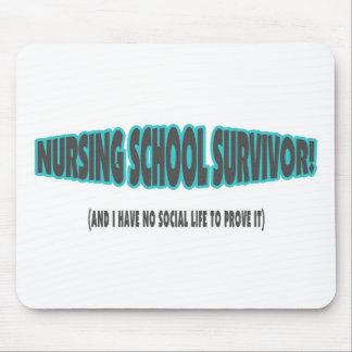 Superviviente de la escuela de enfermería (y yo no tapete de ratón