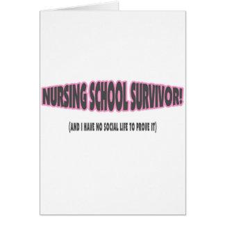 Superviviente de la escuela de enfermería (y yo no tarjeton