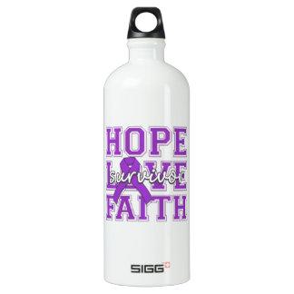 Superviviente de la fe del amor de la esperanza