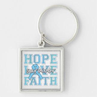 Superviviente de la fe del amor de la esperanza de llavero personalizado