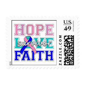 Superviviente de la fe del amor de la esperanza de envio