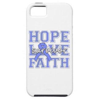 Superviviente de la fe del amor de la esperanza iPhone 5 Case-Mate cobertura