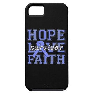 Superviviente de la fe del amor de la esperanza iPhone 5 funda