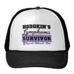 Superviviente de la linfoma de Hodgkin Gorros Bordados