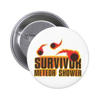 Superviviente de la lluvia de meteoritos pins