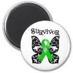 Superviviente de la mariposa del linfoma Non-Hodgk Imán