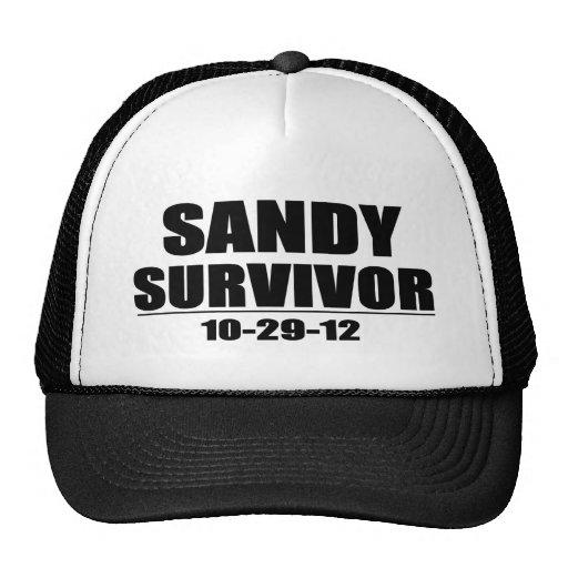 Superviviente de Sandy Gorras