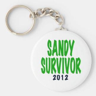 SUPERVIVIENTE de SANDY, verde, regalos del supervi Llaveros