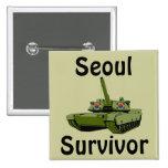 Superviviente de Seul Pin