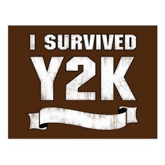 Superviviente de Y2K Tarjetas Postales