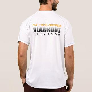 Superviviente del apagón del Torrente-Daño y vieja Camiseta