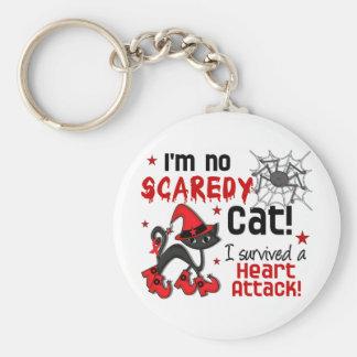 Superviviente del ataque del corazón a Halloween 2 Llavero