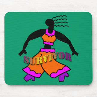 Superviviente del baile mousepad