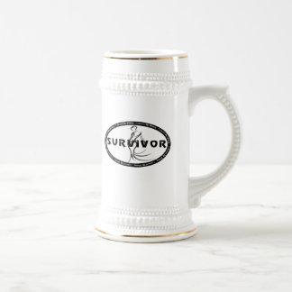 Superviviente del boda taza de café