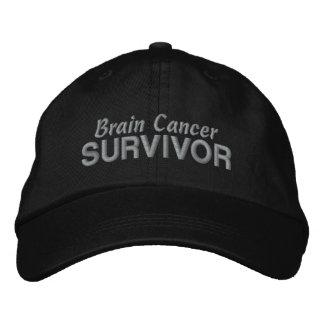 Superviviente del cáncer de cerebro gorra bordada