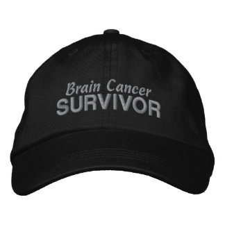 Superviviente del cáncer de cerebro gorras de beisbol bordadas