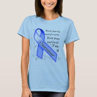 Superviviente del cáncer de colon playera