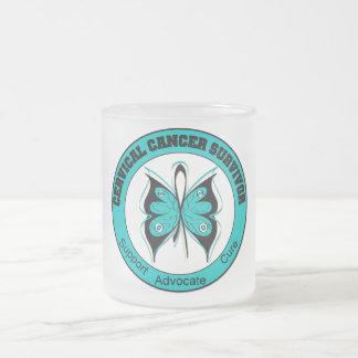 Superviviente del cáncer de cuello del útero taza