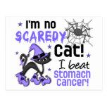 Superviviente del cáncer de estómago de Halloween  Postal