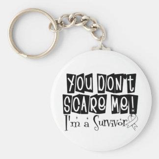 Superviviente del cáncer de hueso usted no me asus llaveros personalizados