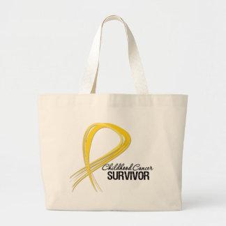 Superviviente del cáncer de la niñez de la cinta d bolsa