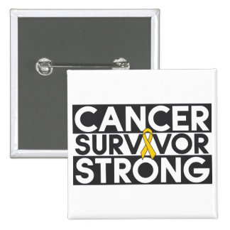 Superviviente del cáncer de la niñez fuerte pins