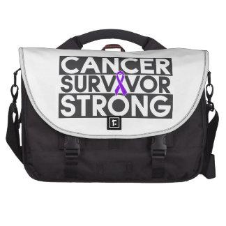 Superviviente del cáncer de Leiomyosarcoma fuerte Bolsas Para Portatil