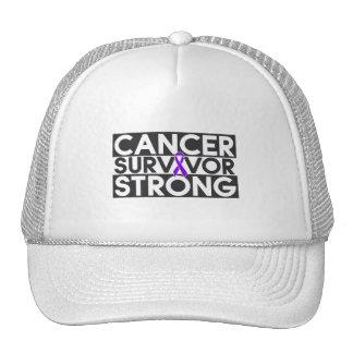 Superviviente del cáncer de Leiomyosarcoma fuerte Gorras De Camionero