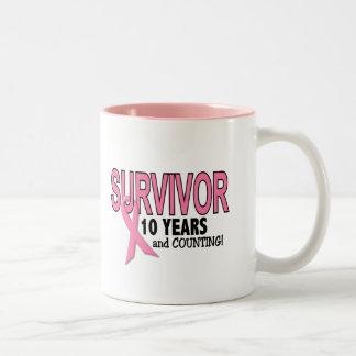 SUPERVIVIENTE del CÁNCER de PECHO 10 años y cuenta Tazas De Café