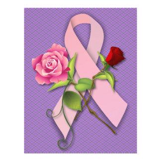 """Superviviente del cáncer de pecho del cierre folleto 8.5"""" x 11"""""""
