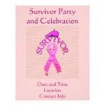 Superviviente del cáncer de pecho tarjetas publicitarias