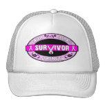 Superviviente del cáncer de pecho gorra