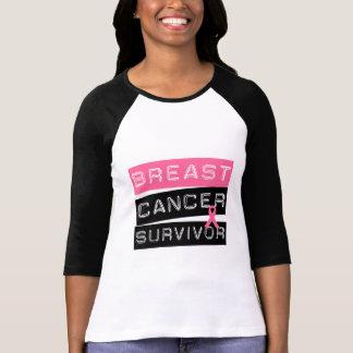 Superviviente del cáncer de pecho tshirt
