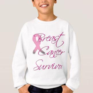 Superviviente del cáncer de pecho sudadera