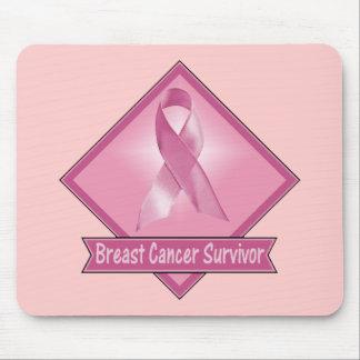 Superviviente del cáncer de pecho tapetes de ratón