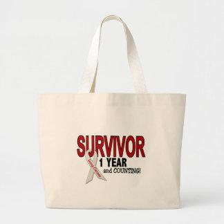 Superviviente del cáncer de pulmón 1 año bolsa
