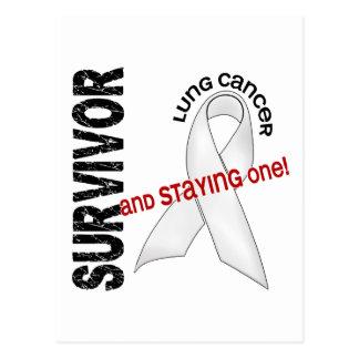 Superviviente del cáncer de pulmón postales