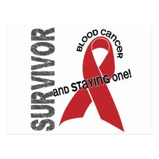 Superviviente del cáncer de sangre tarjetas postales
