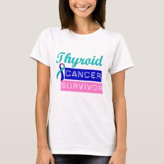 Superviviente del cáncer de tiroides playera