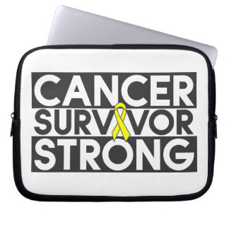 Superviviente del cáncer del osteosarcoma fuerte mangas portátiles