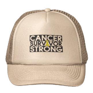 Superviviente del cáncer del osteosarcoma fuerte gorra