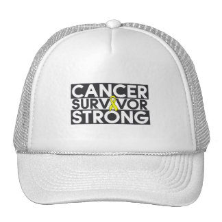 Superviviente del cáncer del osteosarcoma fuerte gorro