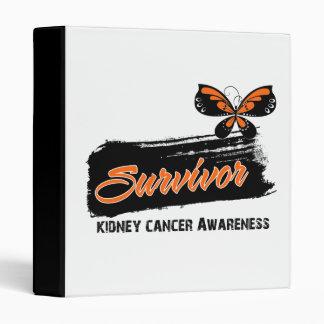 Superviviente del cáncer del riñón de la mariposa