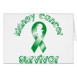 Superviviente del cáncer del riñón felicitacion