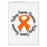 Superviviente del cáncer del riñón felicitaciones