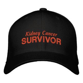 Superviviente del cáncer del riñón gorras bordadas