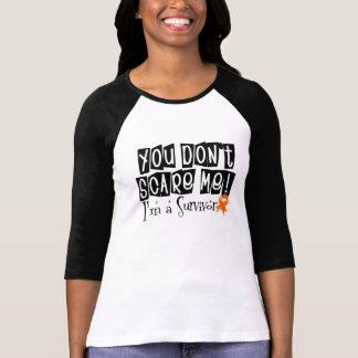 Superviviente del cáncer del riñón usted no me camiseta